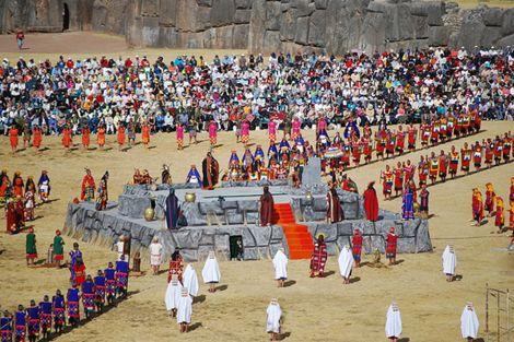 En Perú, se sigue celebrando el Inti-Raymi.