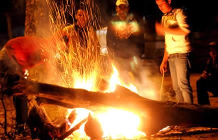 San Juan es una excusa para juntarse a tomar y comer con familia y amigos.