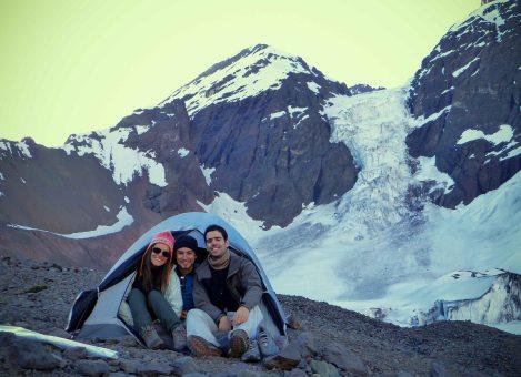 camping-glaciar-morado-chile
