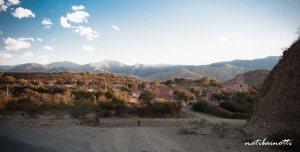 Vista de Chaguaya, con su Iglesia predominante.