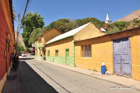 Calles de Pisco Elqui