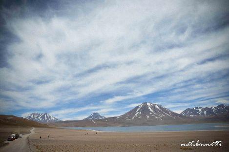 Lagunas, montañas, todo forma parte de Atacama.