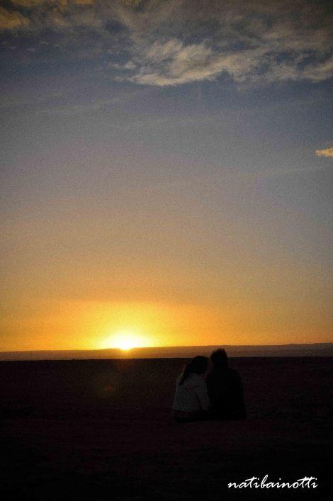 Era el momento más romántico del día...