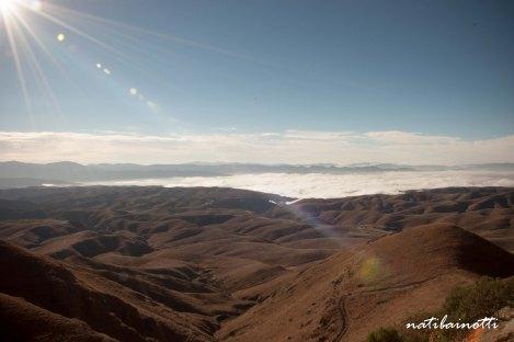 Paisaje camino a Valle de Cinti