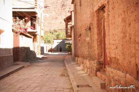 Alguna calle en Villa Abecia.
