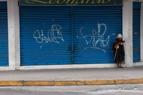 ...y el menor índice de pobreza del país, pero la mayor cantidad de mendigos en la calle que vi.