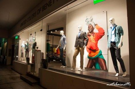 Santa Cruz es la única ciudad de Bolivia en la que vi locales exclusivos de marcas como United Colors of Benetton.